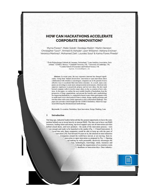 K-Library 20 - Hackathon Methodology Conference Paper