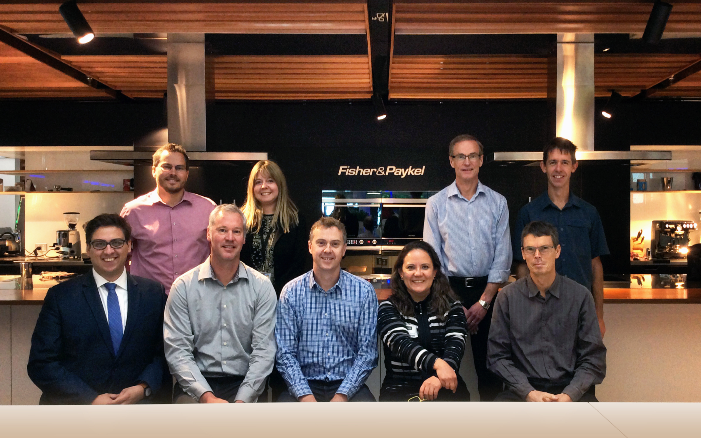 LAA in Fisher & Paykel - Group Photo
